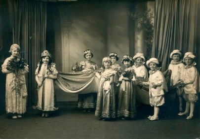 May Queen procession c1930